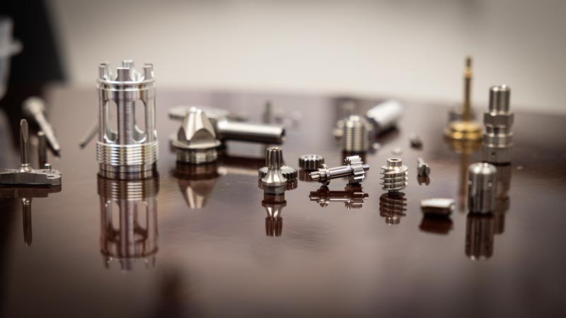 Small Swiss Machined Parts